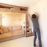Як стильно обставити невелику французьку квартиру