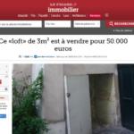 Ціни на нерухомість Парижа божеволіють? За € 50 000 на продаж виставлено «лофт» площею 3 кв. м