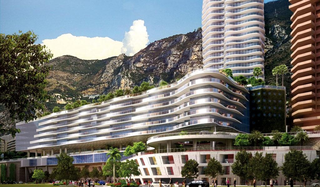 В Монако строится жилой комплекс Engelin