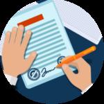 Составление договора поручительства (acte de cautionnement )