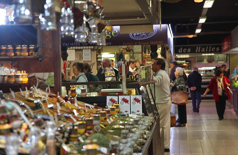 Les Halles — Авиньонский рынок для гурманов