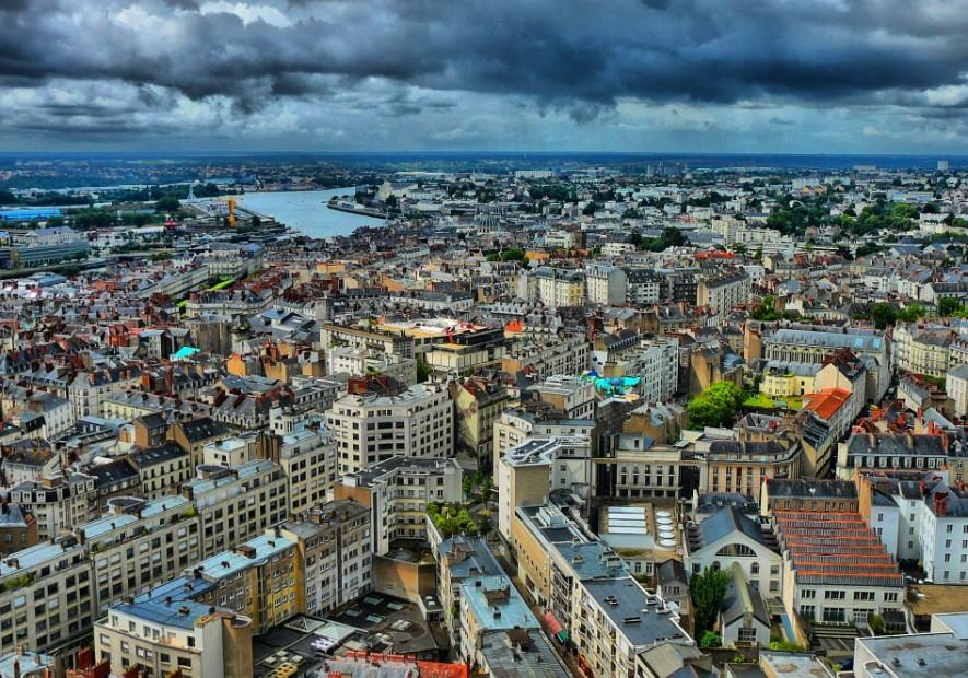 Вся недвижимость города Нант оценена в 41,5 миллиард