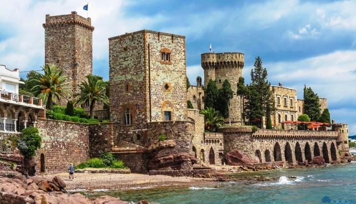 Самые прекрасные замки на Лазурном Берегу