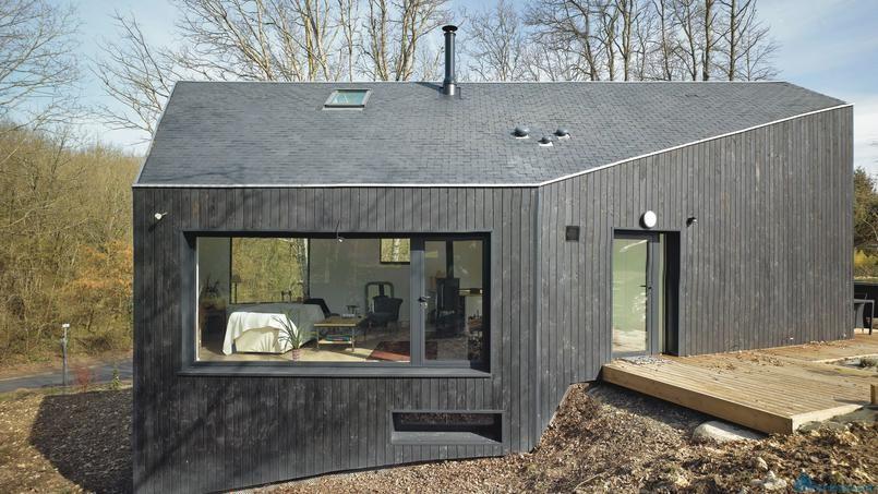 Дом-каюта – еще один кандидат на звание самого красивого дома Франции