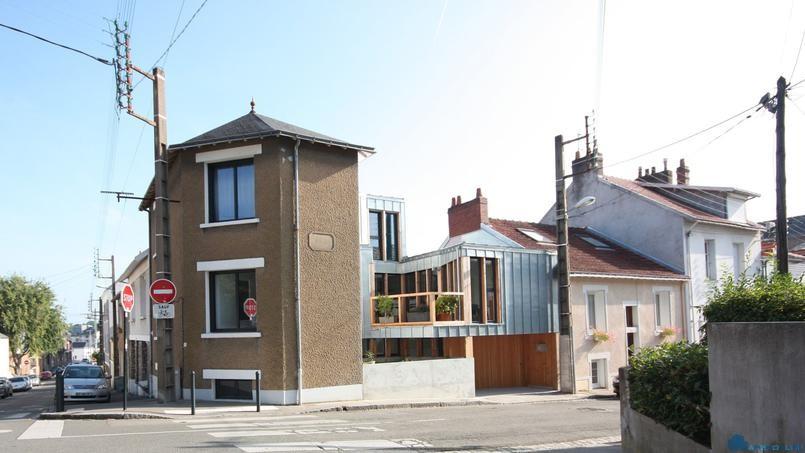 Оригинальный дом в Нанте