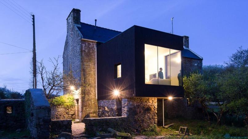 Дом из мельницы