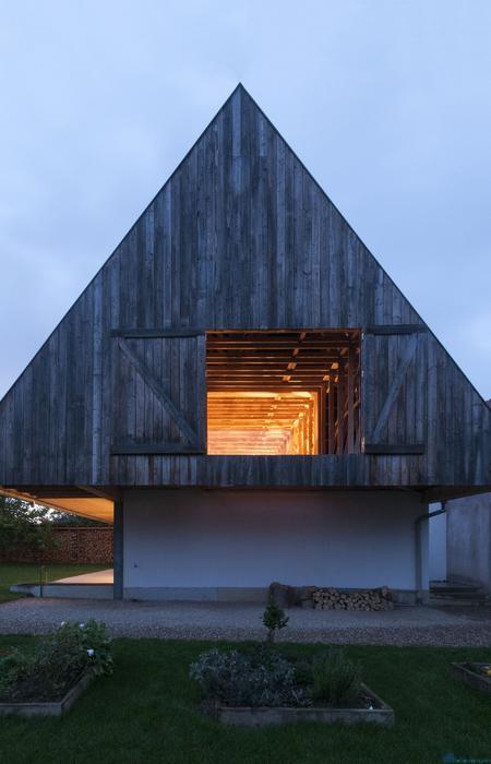 Дом в эльзасской деревушке