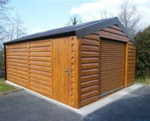 Как самостоятельно построить деревянный гараж