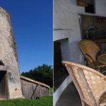 Уютный дом из мельницы 18 века