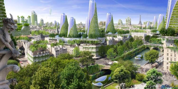 Будущее Парижа и всей планеты за деревянными домами