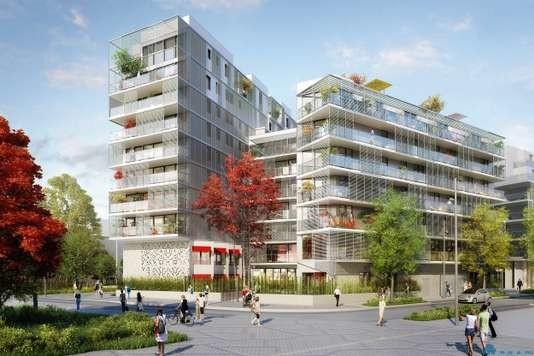 Новый район на месте старой больницы в Бруссе