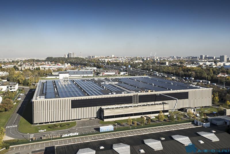 В Иль-де-Франс открыт новый комплекс солнечных батарей