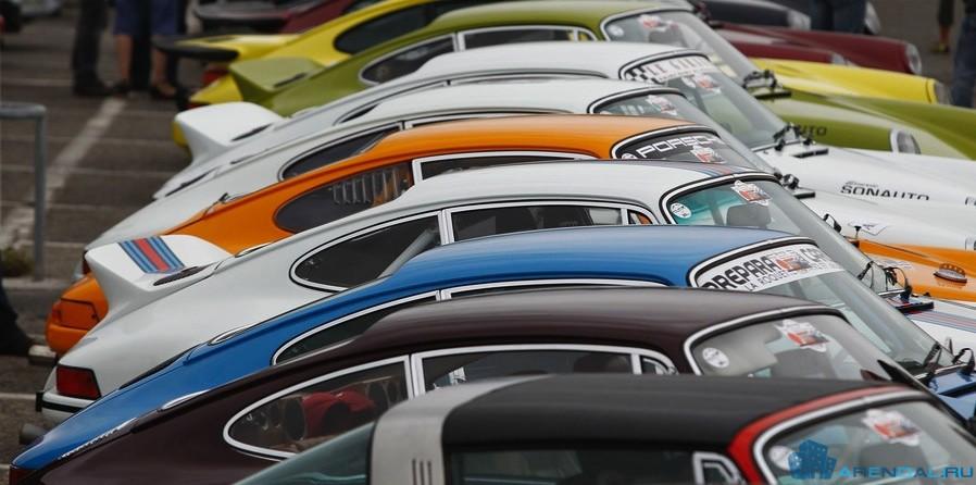 Парад автомобилей «Paradis Porsche»