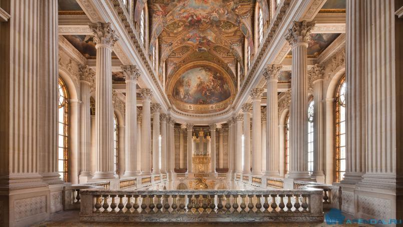 Масштабная реконструкция Версальского дворца