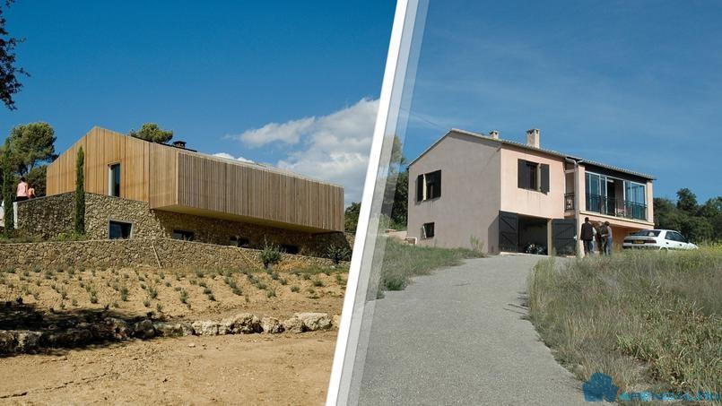 От небольшого домика, до современной виллы