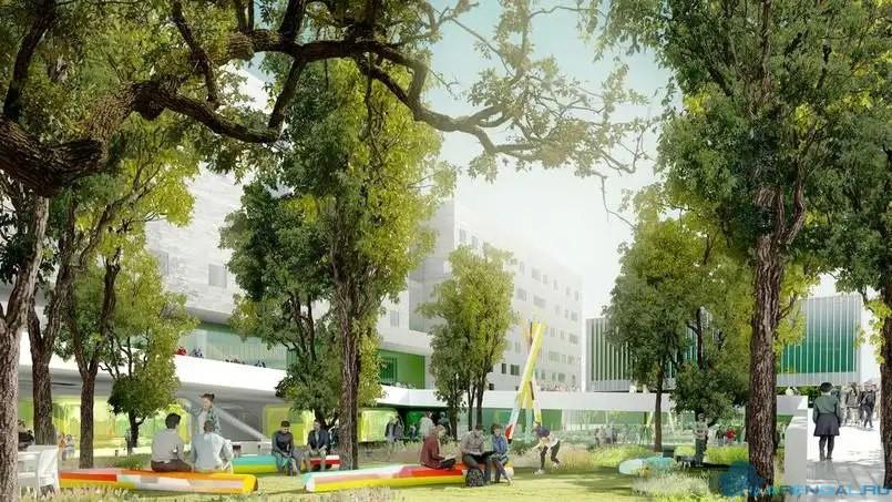 Преображение кампуса Кондорсе – каким он станет?