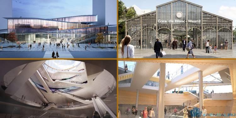 Вокзалы будущего строятся в Париже