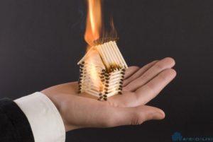 В случае пожара ответственность несет арендатор