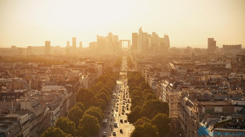 Где в Париже можно укрыться от жаркой погоды