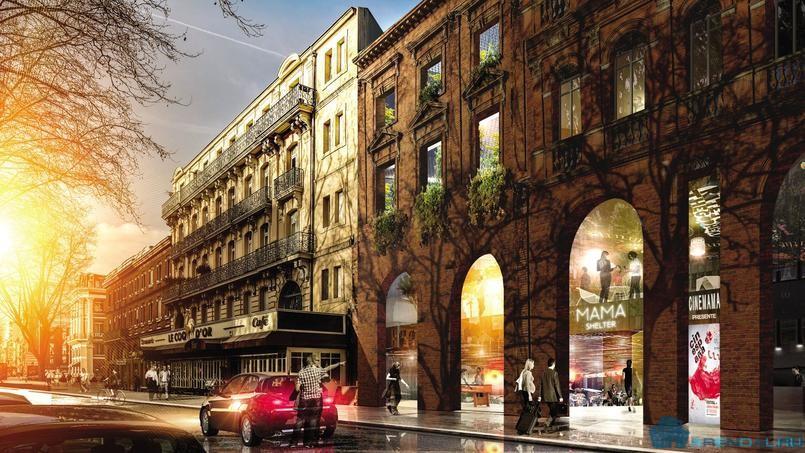 Бывший кинотеатр Тулузы станет отелем Mama Shelter