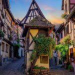 «Нашествие» туристов в маленькой эльзасской деревне