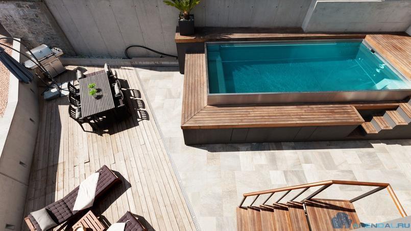 Установка бассейна на арендуемой площади может влетать в «копеечку»