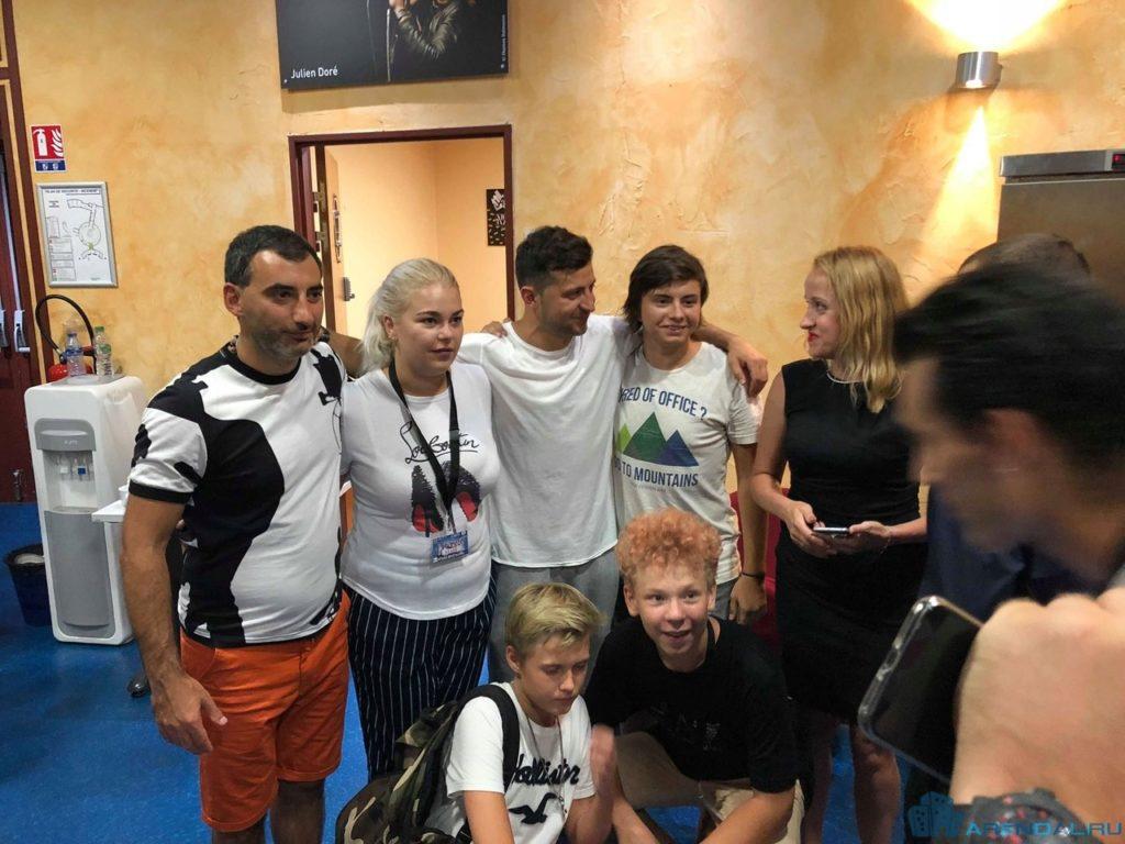 Студия Квартал 95 – первый концерт в Ницце