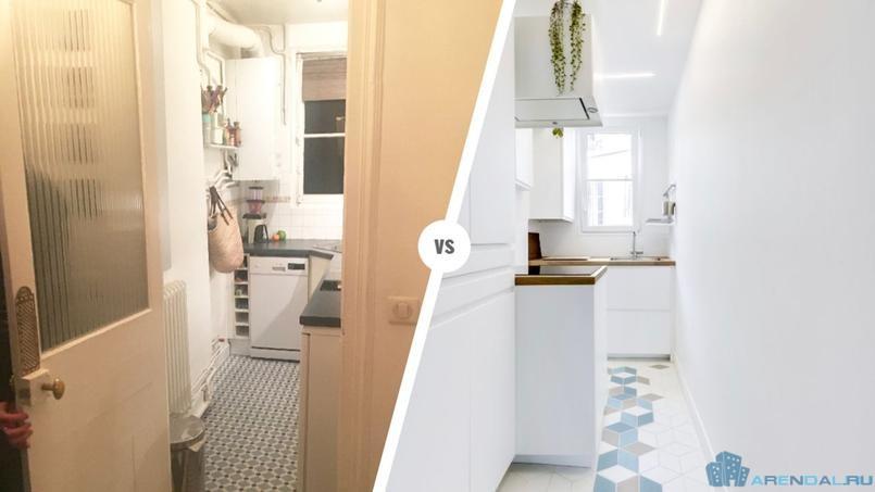Преображение кухни в 5 квадратных метров