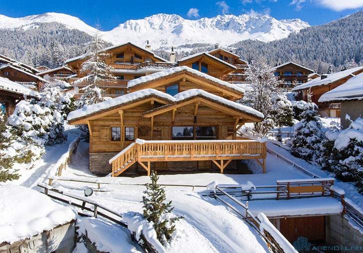 Элитное жильё во Французских Альпах