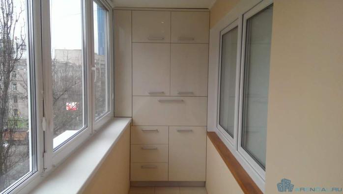 Какие есть шкафчики для балкона?