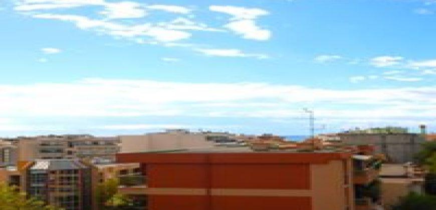 Двухкомнатные апартаменты с видом на море в Ницце