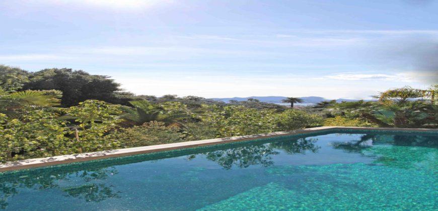 Вилла с панорамным видом на море