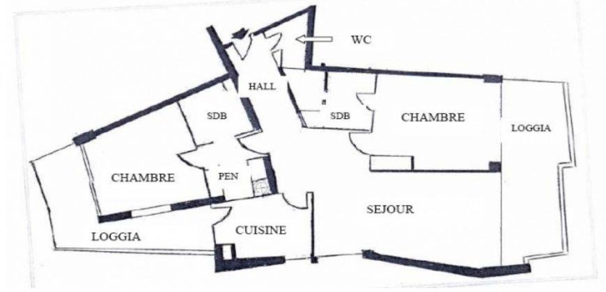 Купить 3 комнатные апартаменты в Монако за 7200000 Евро
