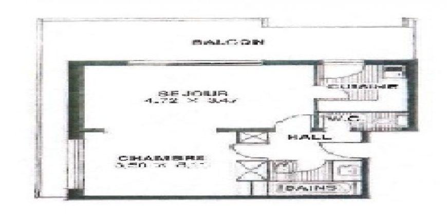 Купить 2 комнатные апартаменты в Монако за 2500000 Евро
