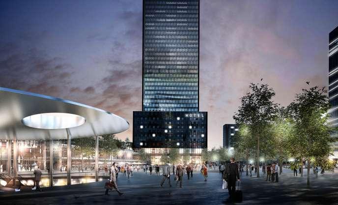 В Лионе началось строительство небоскреба To-Lyon