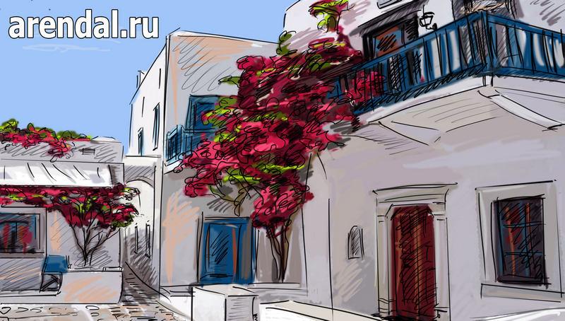 недвижимость в греции, дом греция