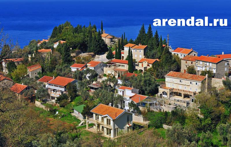 недвижимость Черногории, дом за рубежом