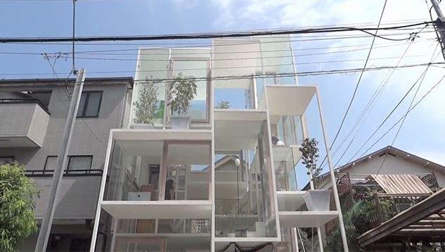 Прозрачный дом из Токио