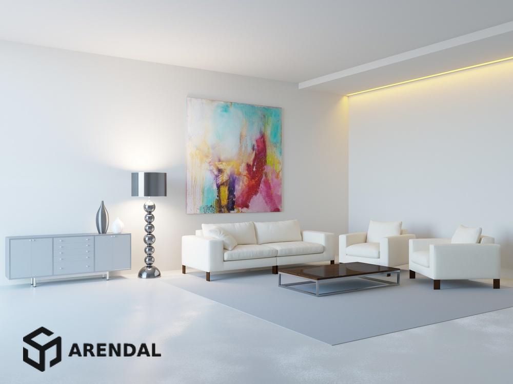 5 принципов проектирования гостиной в стиле минимализм