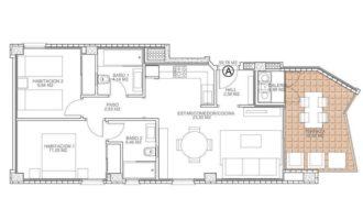 Апартаменты на Коста-Бланка, Испания, 59 м2