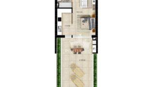 Апартаменты в Албуфейре, Португалия, 88 м2