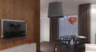 Апартаменты в Бечичи, Черногория, 49.59 м2