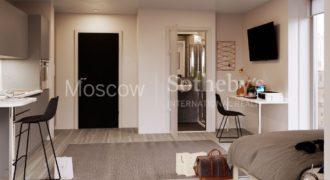 Апартаменты в Сток-он-Тренте, Великобритания, 18 м2