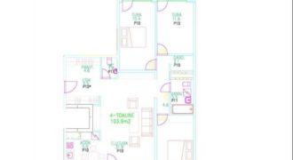 Апартаменты в Таллине, Эстония, 122.9 м2