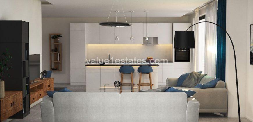 Апартаменты в Тивате, Черногория, 51.68 м2