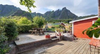 Коммерческая недвижимость на Лофотенских островах, Норвегия, 66 м2