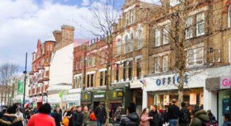 Коммерческая недвижимость в Кройдоне, Великобритания, 809 м2