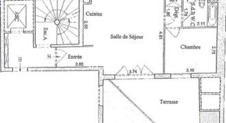 Квартира в 17-ом районе Парижа, Франция, 38 м2