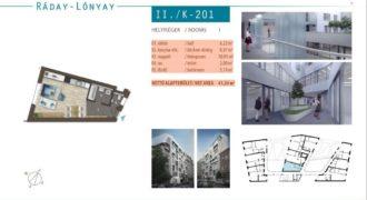 Квартира в Будапеште, Венгрия, 41 м2