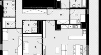Квартира в Праге, Чехия, 173 м2